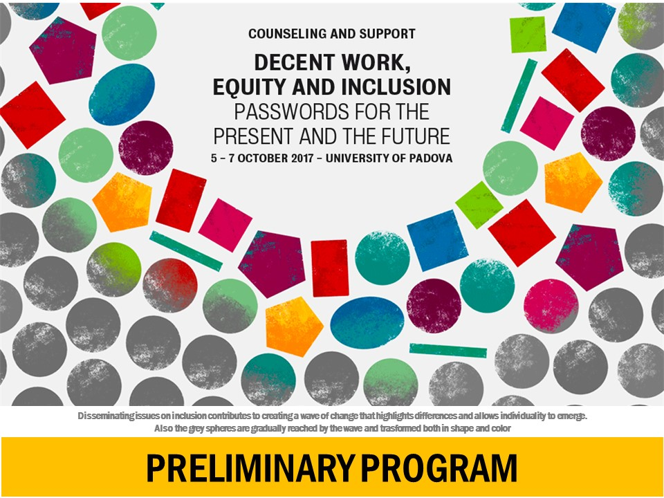 international conference Decent work equity and inclusion_preliminary program